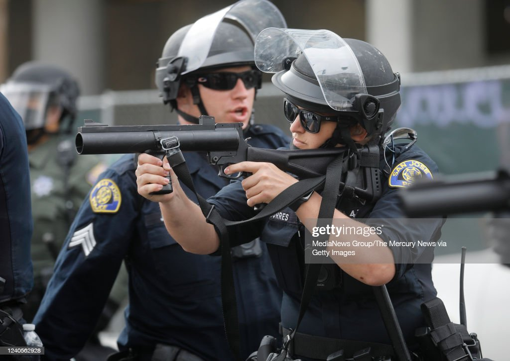 San Jose third day of George Floyd protests : News Photo