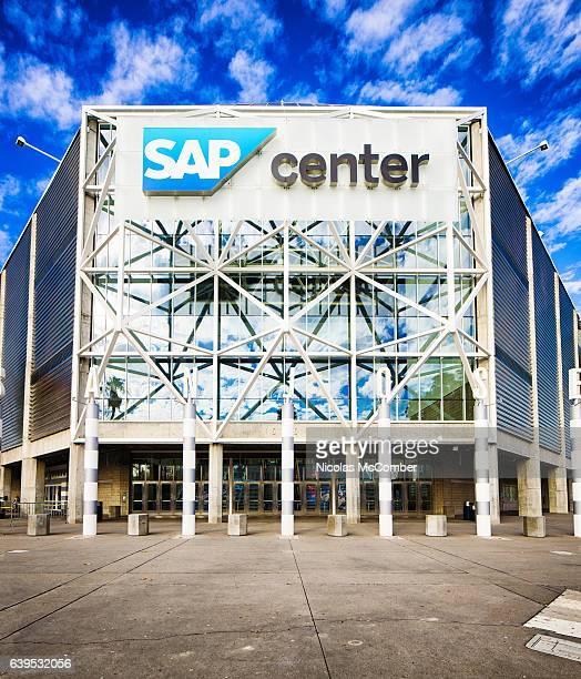 San Jose SAP center arena concert hall main entrance
