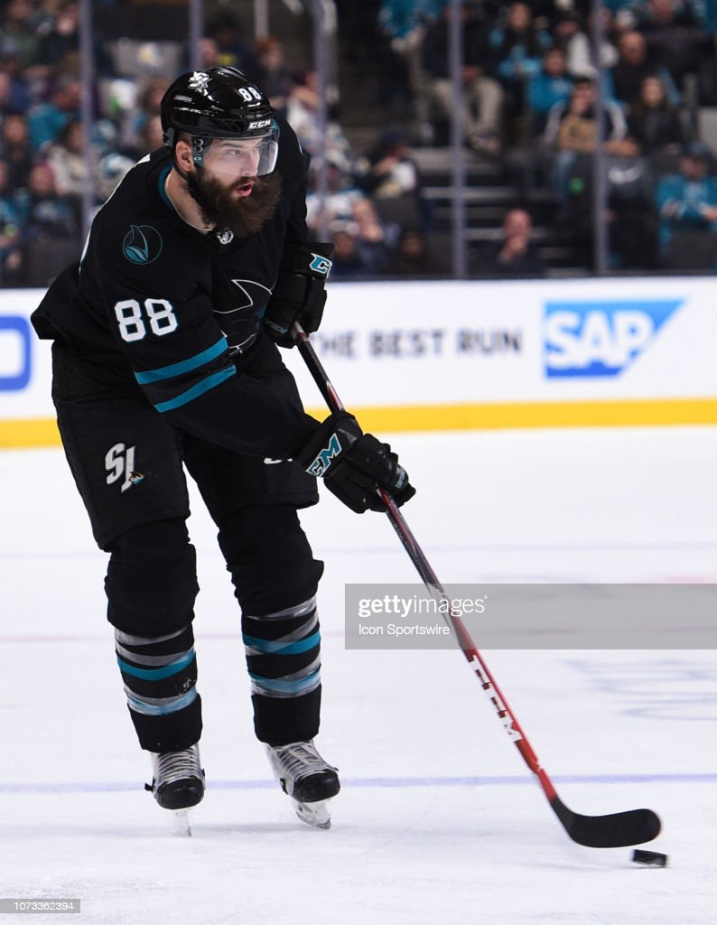 NHL: DEC 13 Stars at Sharks : News Photo