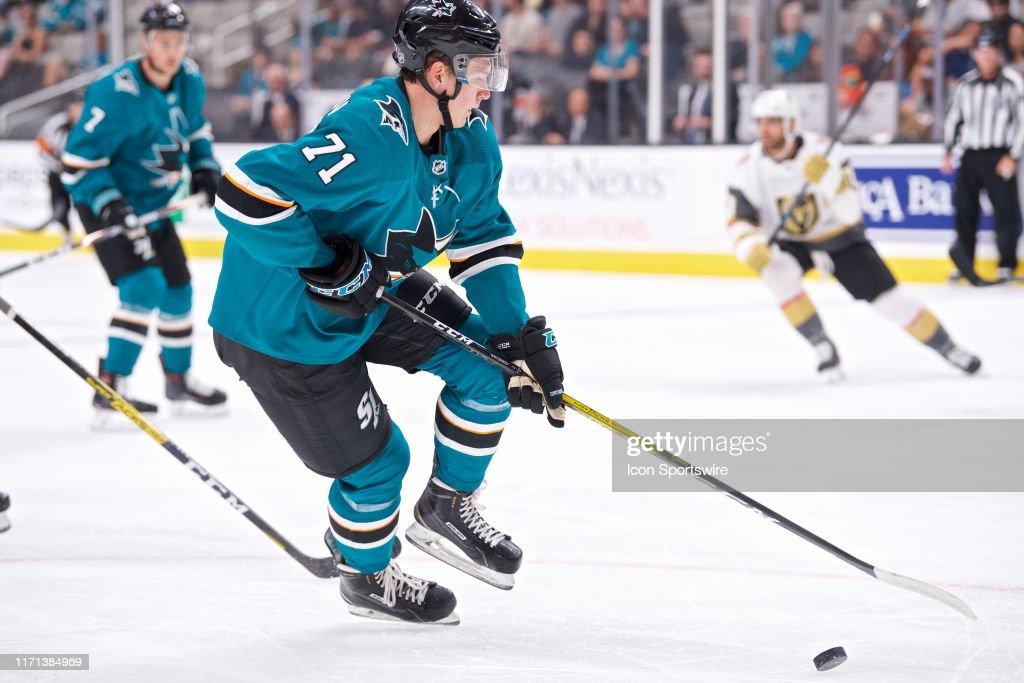 NHL: SEP 21 Preseason - Golden Knights at Sharks : News Photo