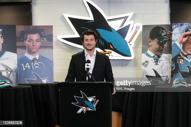 San Jose Sharks Director of Scouting Doug Wilson Jr. Announces forward Ozzy Weisblatt as the 31st overall pick during Round One of the San Jose...