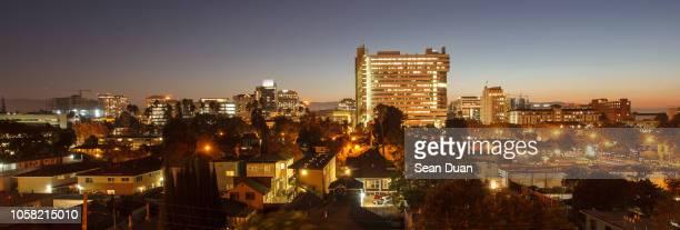 san jose twilight 3 - san jose california stock pictures, royalty-free photos & images