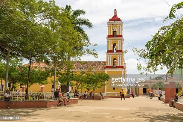 San Juan Bautista or Saint John the Baptist Catholic church in San Juan de los Remedios Remedios is a Spanish colonial village or settlement among...