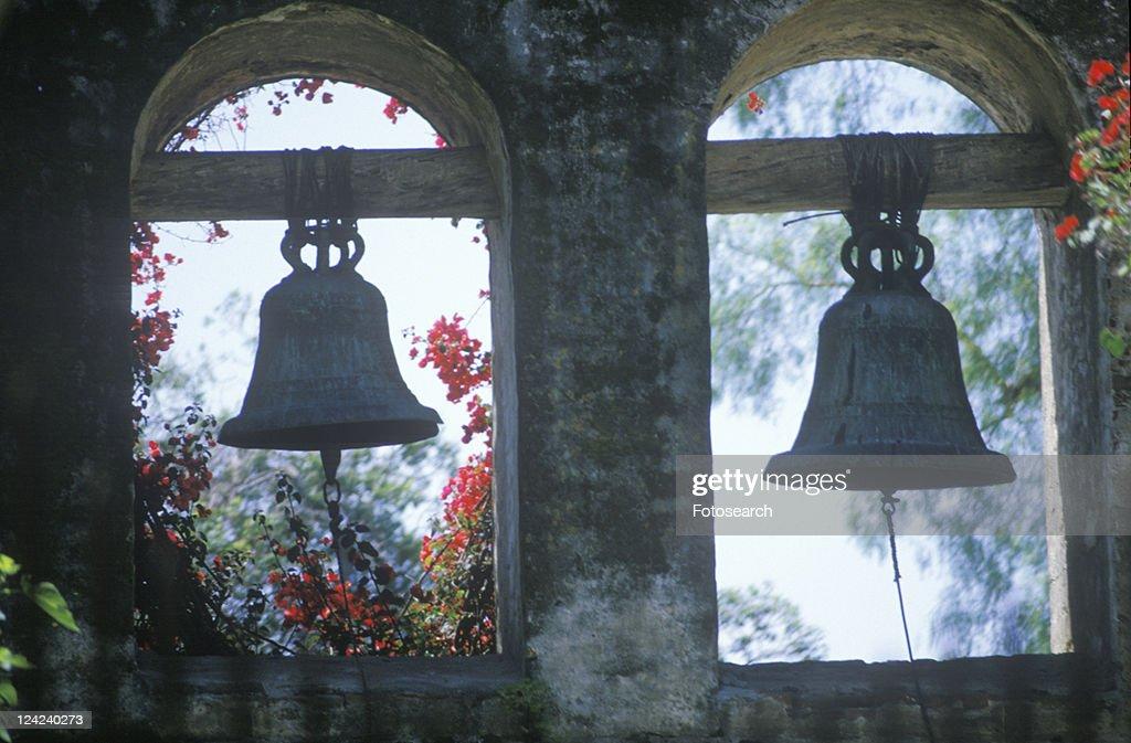 San Juan Capistrano Spanish Mission built in 1776 : Stock Photo