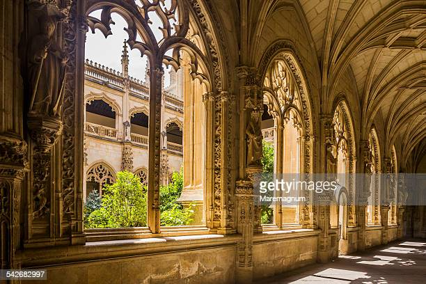 san juan de los reyes monastery, the cloister - トレド ストックフォトと画像