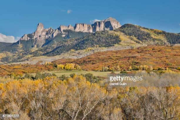 San Juan Mountain range Autumn