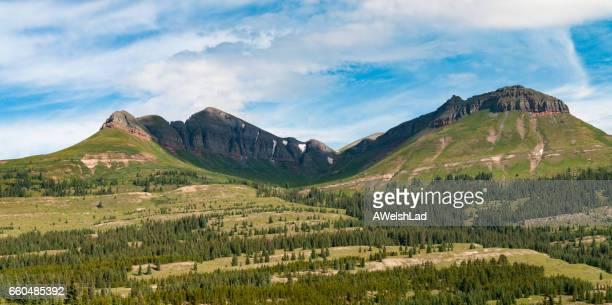 san juan national forest,  colorado - san juan mountains stock photos and pictures