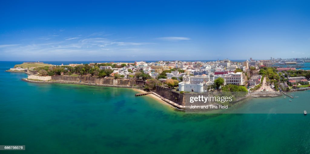 San Juan Old Town : Stock Photo