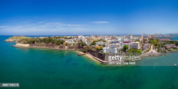 san juan old town - puerto rico stock pictures, royalty-free photos & images