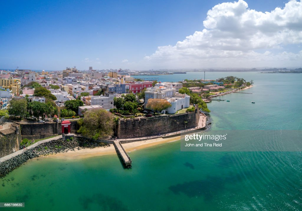 San Juan Old Town : Stock Photo
