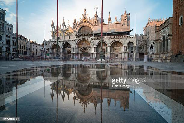san marco basilica in venice, italy - basilica stock pictures, royalty-free photos & images