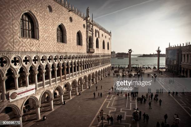 San Marco Square Venice Veneto Italy