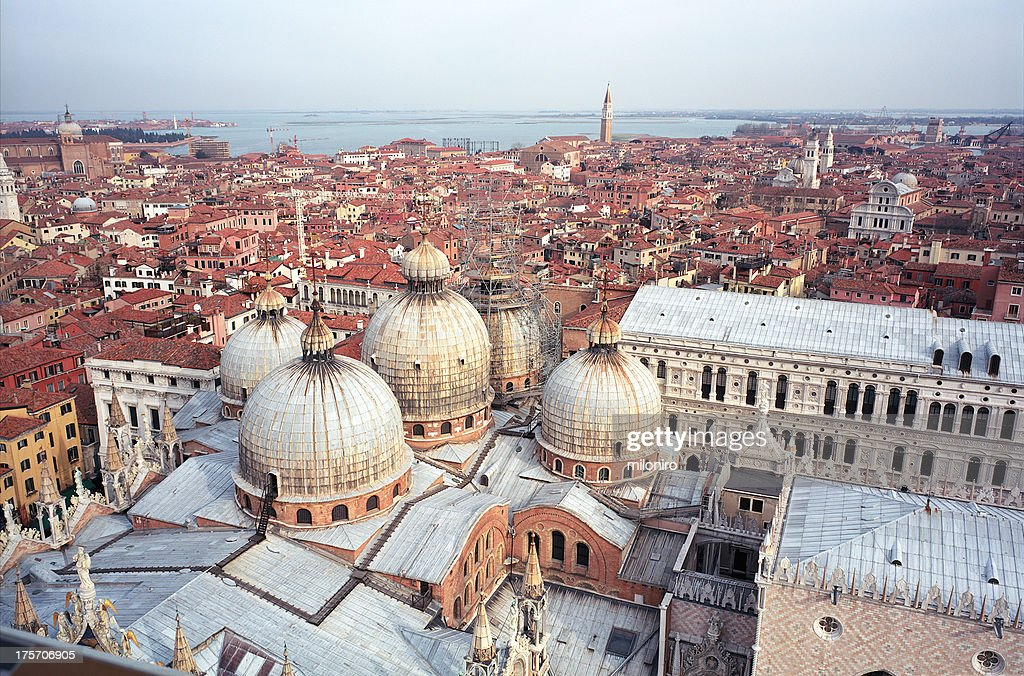 San Marco, view from Campanile : Stock-Foto