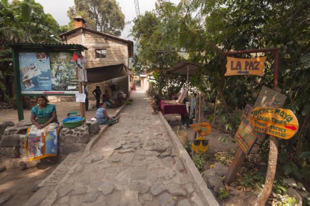 San Marco village street scene