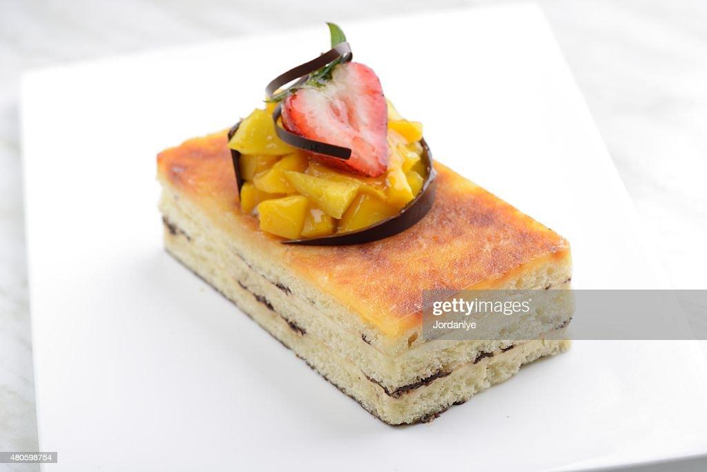 San Marcos Cheese Cake : Stock Photo