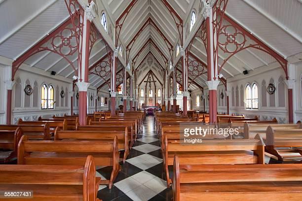 San Marcos Church Designed By Gustave Eiffel Arica Arica Parinacota Region Chile