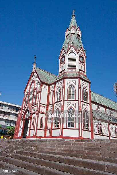 San Marcos Church Designed By Gustave Eiffel In Arica Arica And Parinacota Region Chile
