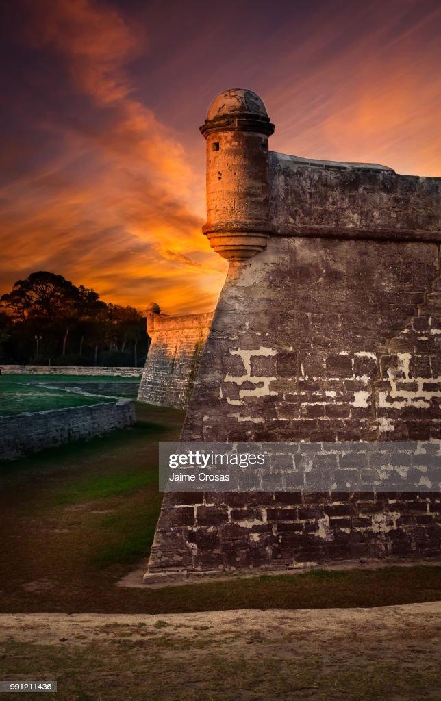 San Marcos St . Augustine, Florida : Stock Photo