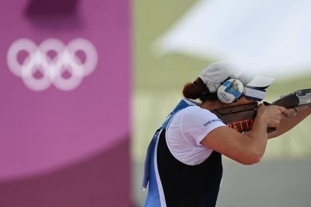 JPN: Shooting - Olympics: Day 9