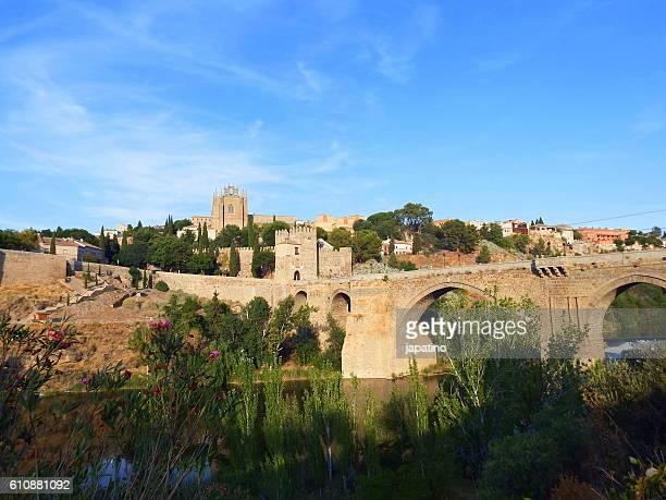 San Martin bridge for access to Toledo on the Tajo River