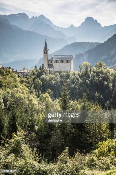 San Martino church's, Valle di Cadore, Italy