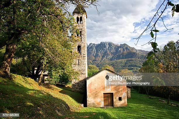 San Martino, near Sonvico, Ticino, Switzerland
