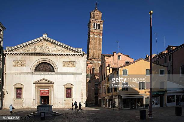 san maurizio square & church in san marco quarter,venice - emreturanphoto stock pictures, royalty-free photos & images