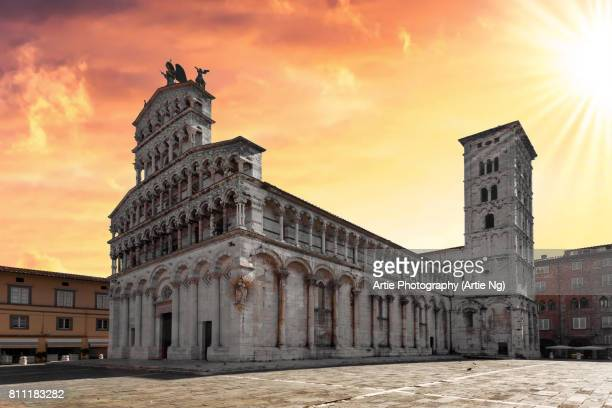 San Michele in Foro, Lucca, Tuscany, Central Italy