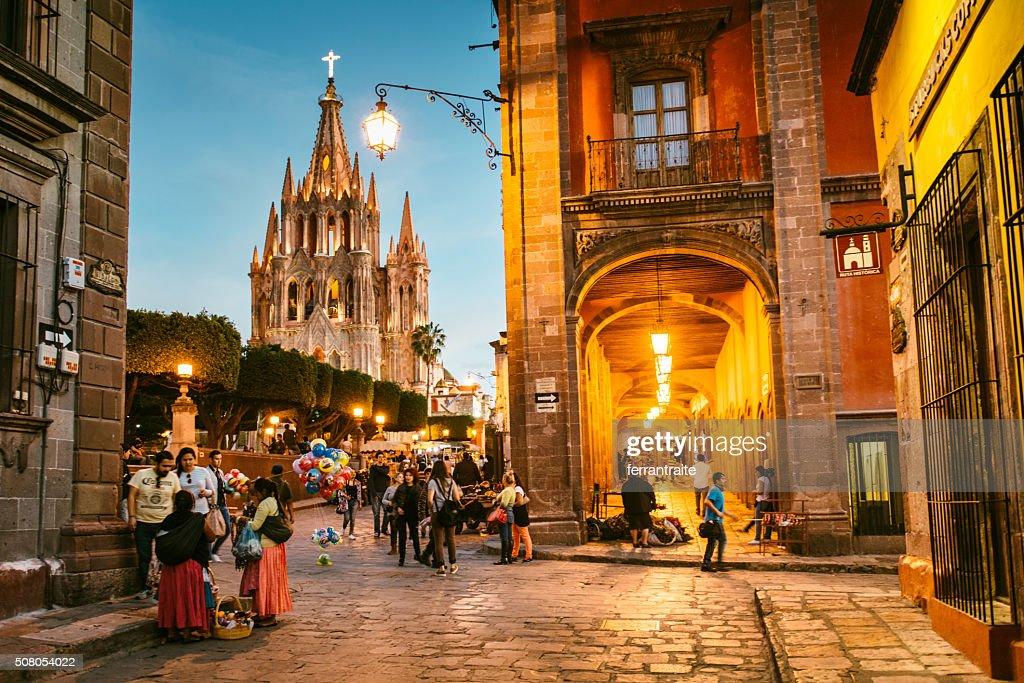 サンミゲルデアレンデメキシコで : ストックフォト