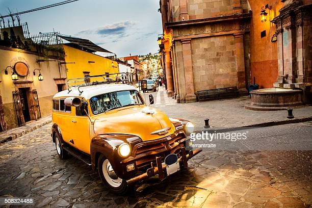 san miguel de allende in mexico - mexico stock photos and pictures