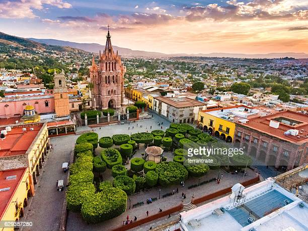 san miguel de allende mexico - guanajuato stock pictures, royalty-free photos & images