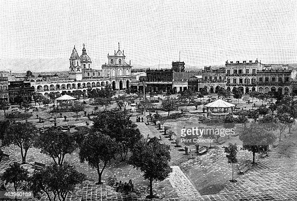 San Miguel de Tucuman Argentina 1895 From The Universal Geography with Illustrations and Maps division XXXVIII written by Elisee Reclus and published...