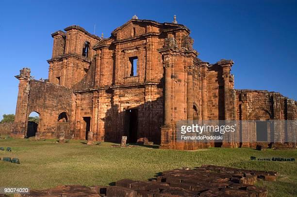 サン・ミゲルミッション、ブラジル - リオグランデドスル州 ストックフォトと画像