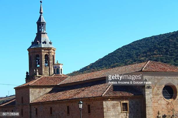 san millán de yuso monastery - san millán de la cogolla stock pictures, royalty-free photos & images