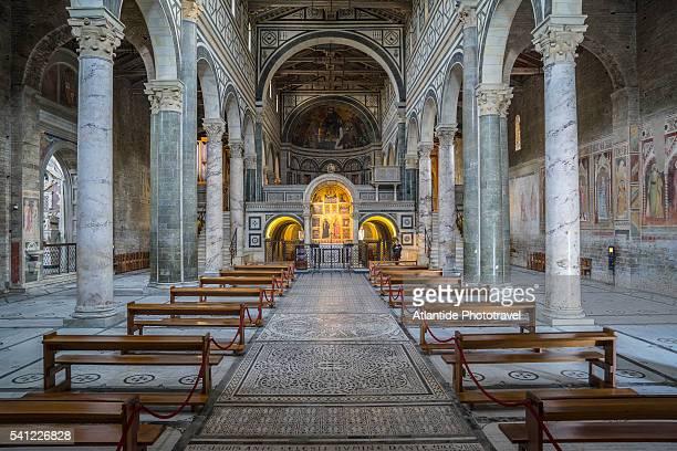 san miniato al monte church - san miniato stock pictures, royalty-free photos & images