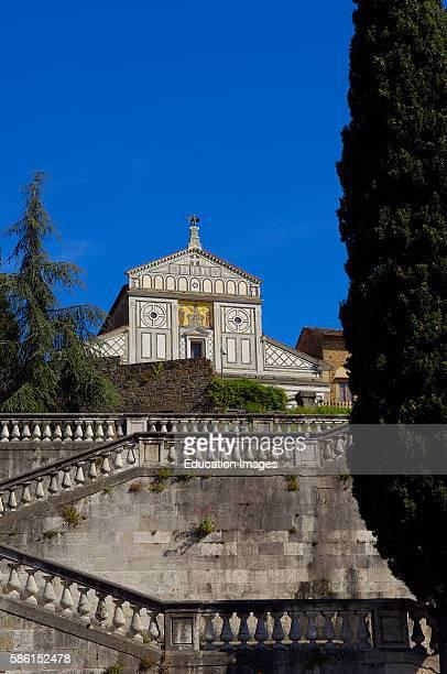 San Miniato al Monte, Florence, San Miniato al Monte church, Tuscany, Italy.