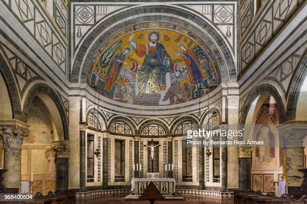 san miniato basilica in florence - san miniato stock pictures, royalty-free photos & images