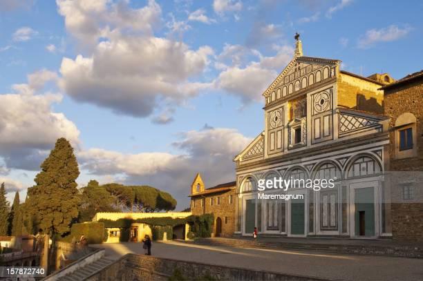 san miniato church - san miniato stock pictures, royalty-free photos & images