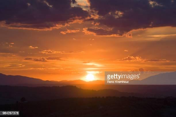 san miniato sunset - san miniato stock pictures, royalty-free photos & images