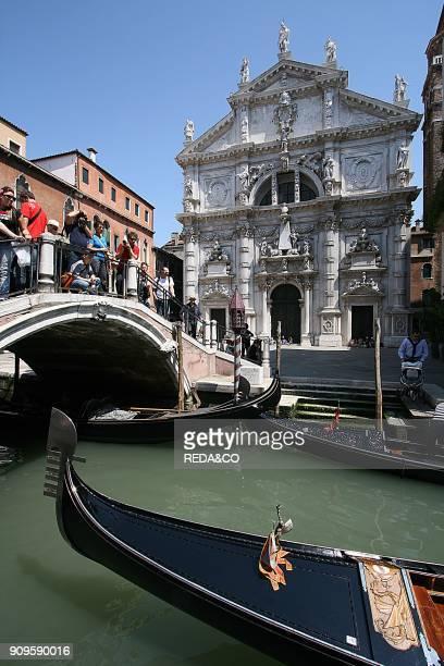 San Mois church sestiere di San Marco Venice Veneto Italy