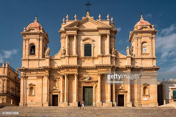 san nicolo catedrale - baroque stock pictures, royalty-free photos & images