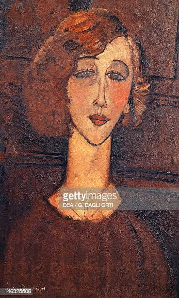 San Paolo Museu De Arte De Sao Paulo Renee by Amedeo Modigliani oil on canvas 61x38 cm