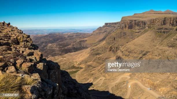 San Pass, uKhahlamba Drakensberg Park, KwaZulu Natal, South Africa