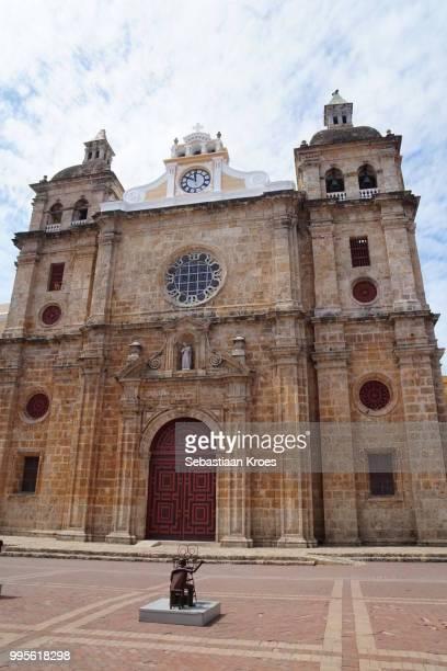 San Pedro Claver Church, Statue, Cartagena, Colombia