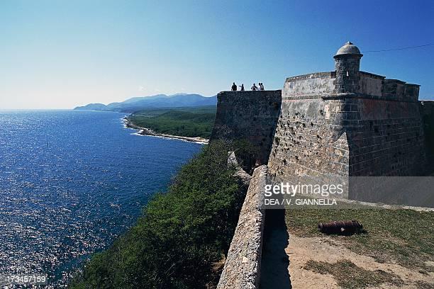 San Pedro de la Roca Castle by Giovan Battista Antonelli Santiago de Cuba Cuba