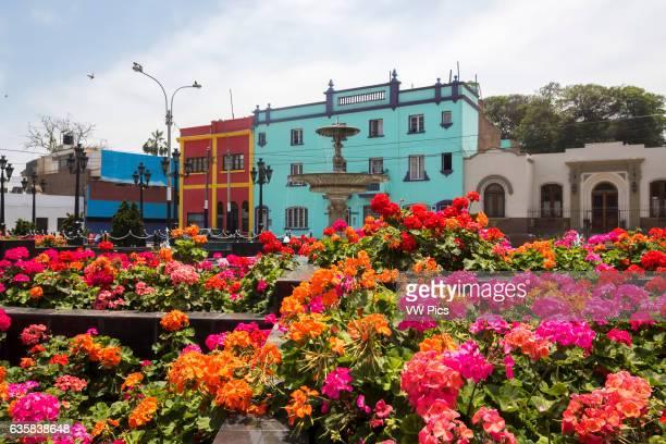 San Pedro Square Chorrillos district Lima Peru