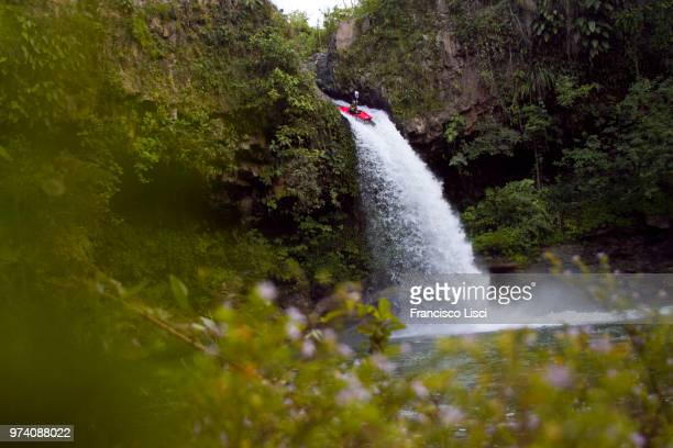 san pedro waterfall, veracruz, mexico - veracruz stock pictures, royalty-free photos & images