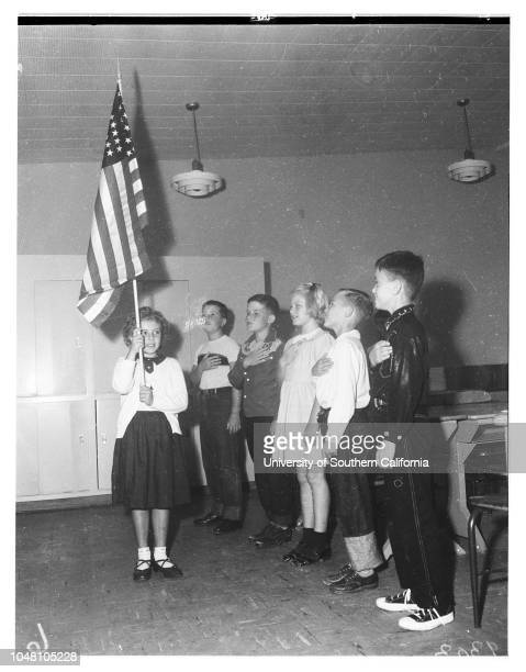 San Pedro's New Elementary White Point School Kenneth Bowling 4 1/2 yearsMrs Margie Bowling Richard Fitch 4 1/2 yearsMrs John FitchTerry Crostic 11...