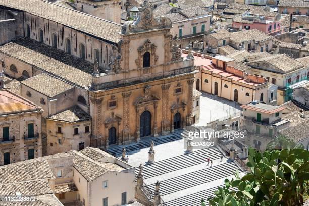 San Pietro church Modica Ragusa Sicily Italy Europe