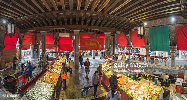 San Polo, Rialto fish daily market